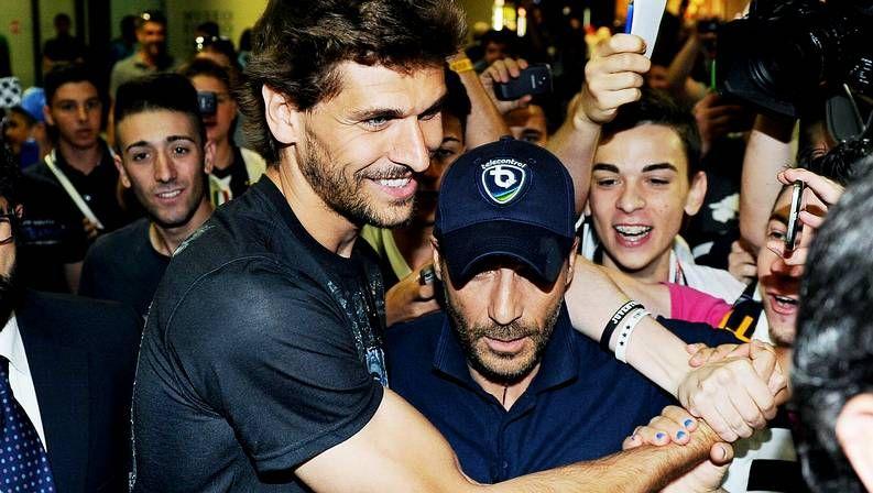 Llorente, a su llegada a Turín