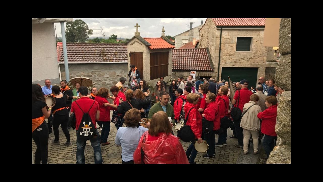 Los hornos de Cea vendieron 3.600 piezas en la Festa do pan