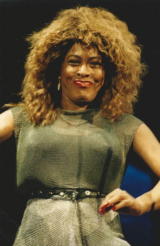 Tina Turner en A Coruña (1990)