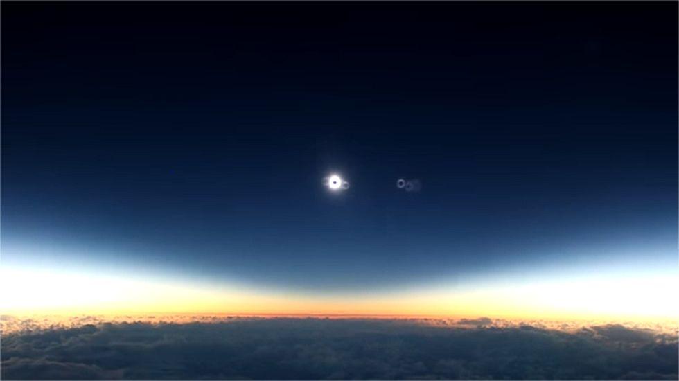 Las imágenes más espectaculares del eclipse total de sol