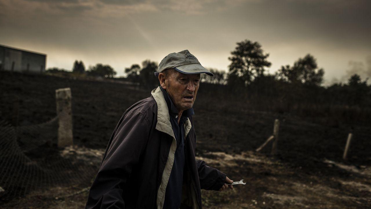 Ola de incendios en Ourense.Gabriel Alén, nuevo delegado territorial de la Xunta en Ourense