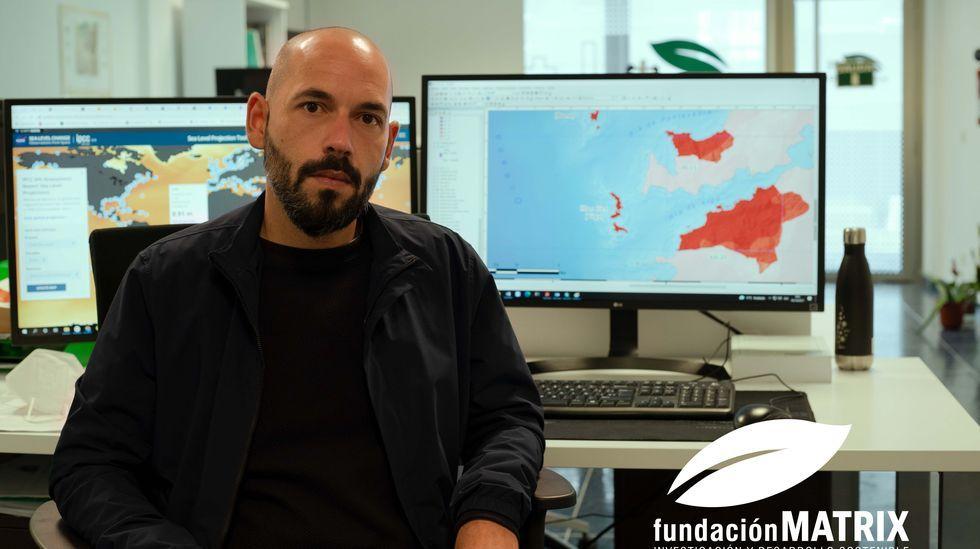 Alberto González, investigador coordinador del proyecto Climillat