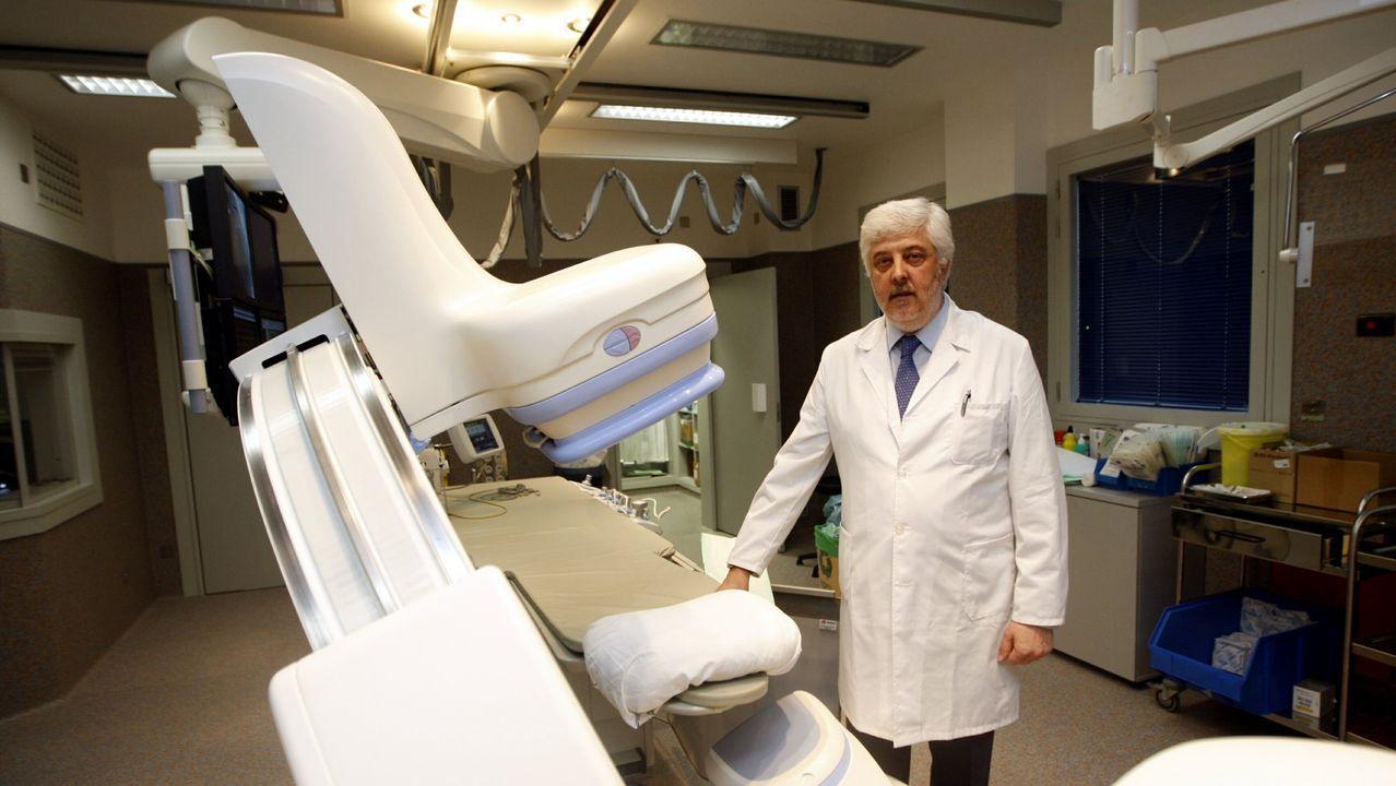 Andrés Íñiguez, jefe de cardiología del Hospital Álvaro Cunqueiro