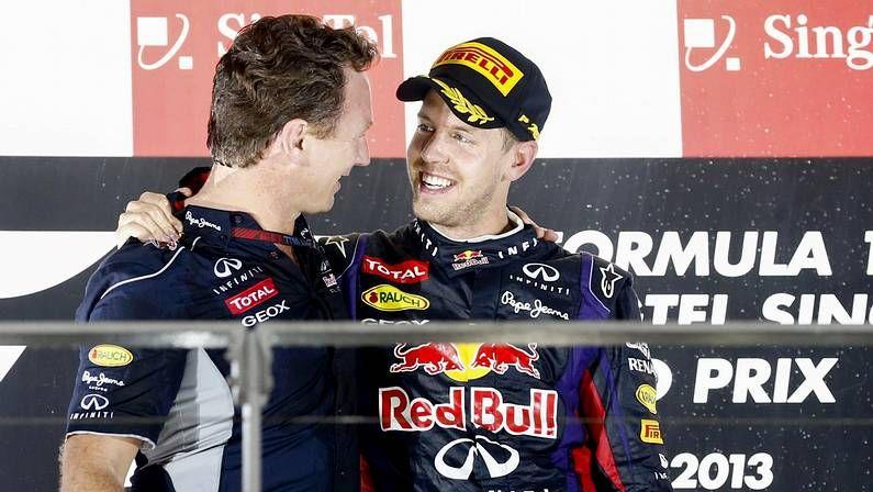 Tercer aniversario del devastador tsunami de Japón.Vettel y Horner, en el podio de Singapur