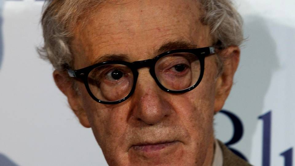 Woody Allen estatua