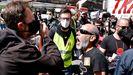 Tensión entre trabajadores del metal y varios cargos sindicales de CC.OO. y UGT