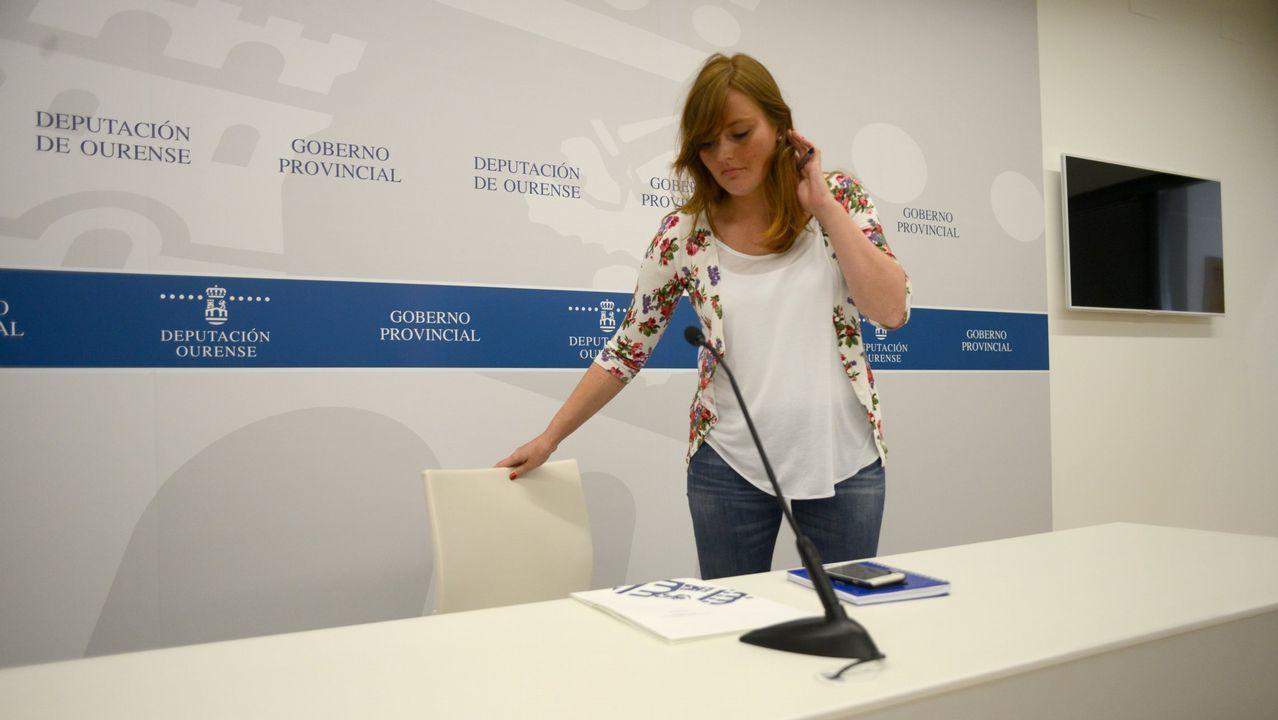 La diputada era portavoz del gobierno de la Diputación de Ourense