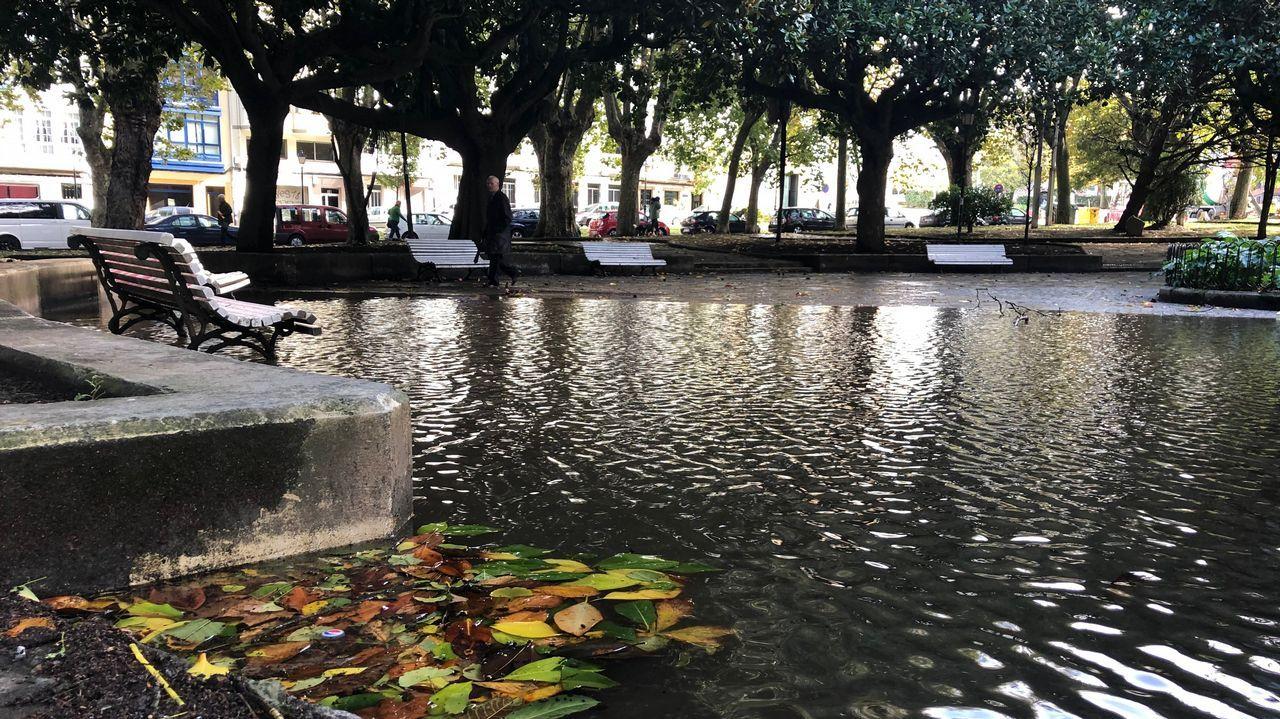 El Cantón de Ferrol, inundado