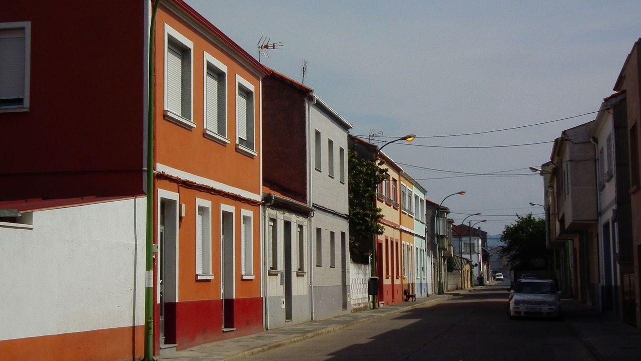 Calle Juan Montes, una de las afectadas por el corte del suministro