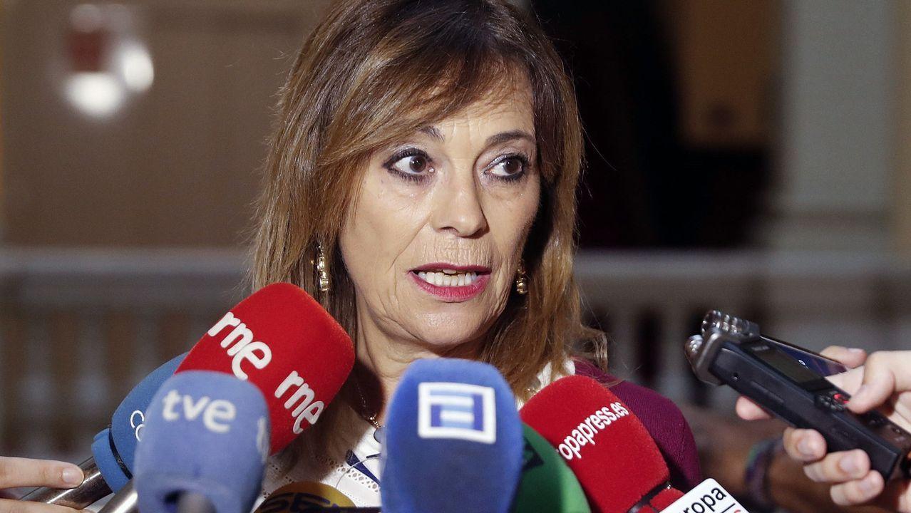 Obras en la variante de Pajares.Ángela Vallina