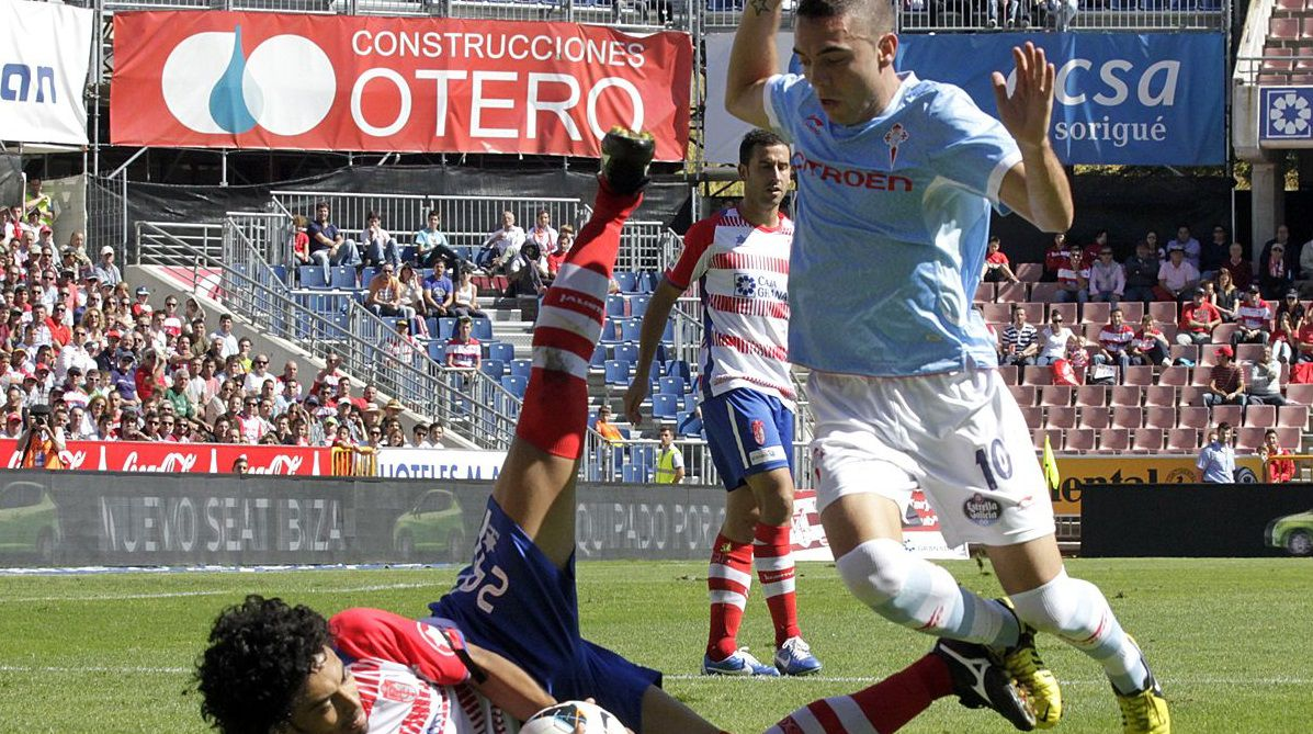 122 - Granada-Celta (2-1) el 30 de septiembre del 2012