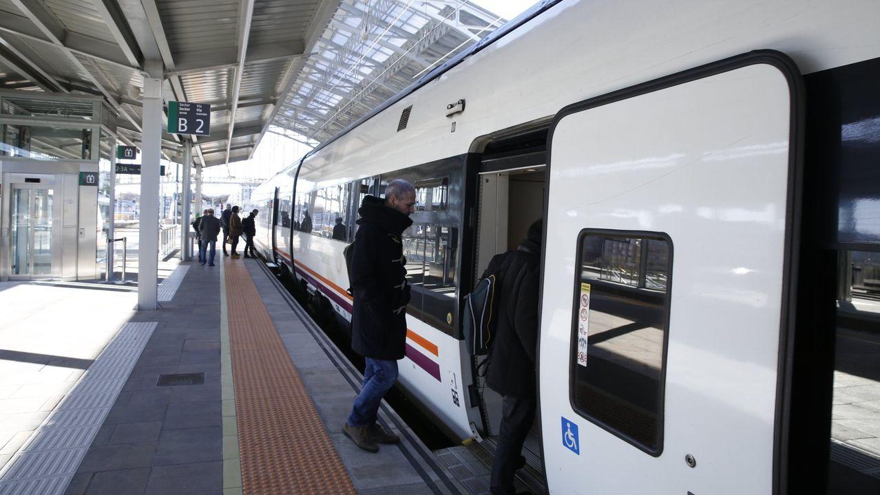 Diferentes fotografías de vagones de tren pintados con grafitis tras la operación contra estas pintadas en vagones de tren realizados en varios puntos de España y Europa