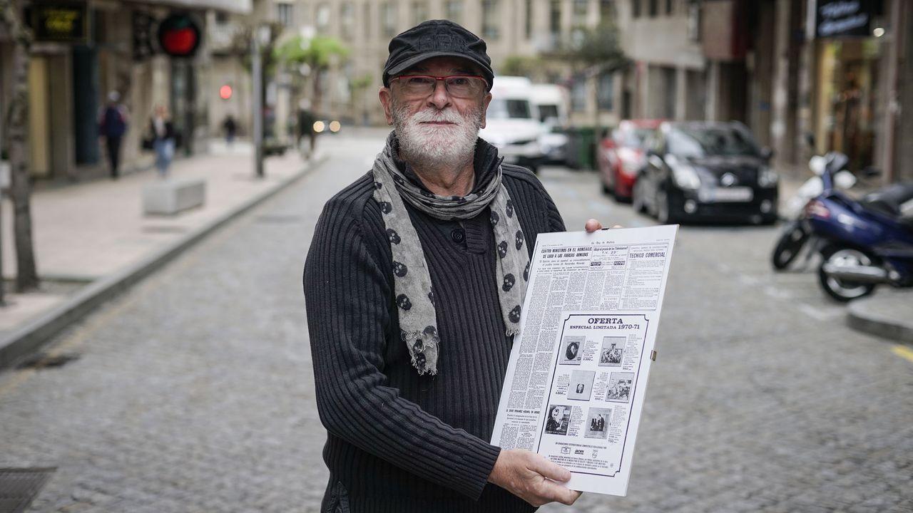 Vázquez lleva 30 años en O Pereiro de Aguiar