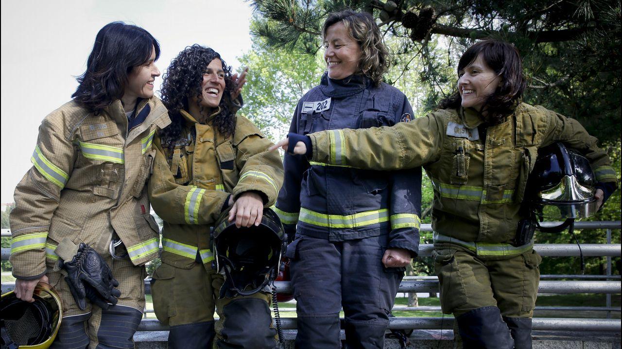«Ojalá seamos más bomberas».AVANSIG, CON SEDE EN FERROL Y A CORUÑA