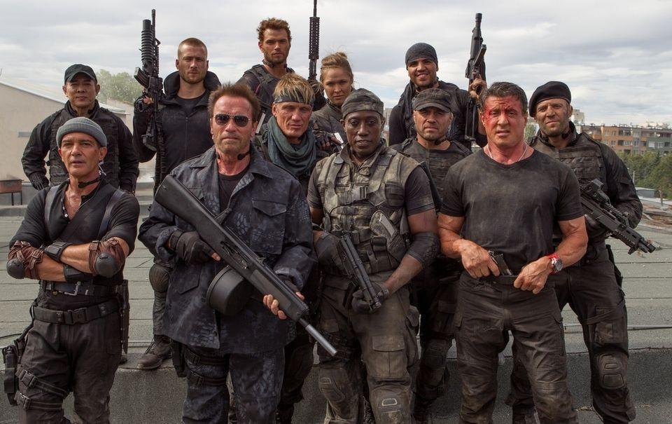 Las estrellas de «Los mercenarios 3» no convencieron al público para pasar por la taquilla.