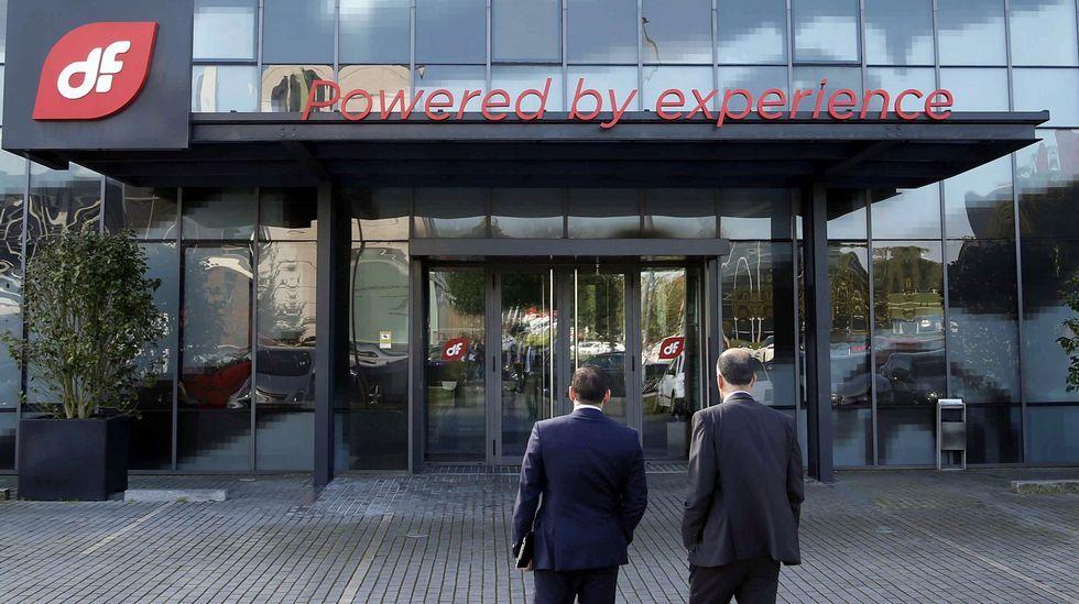 La sede de Duro Felguera. Sede central de Duro Felguera en el Parque Científico Tecnológico de Gijón.