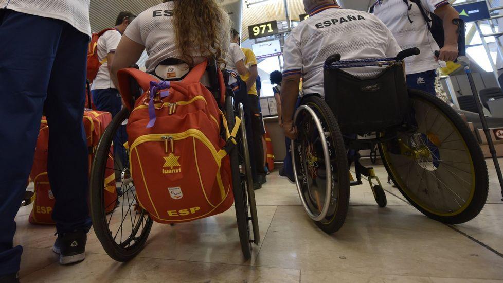 Los atletas paralímpicos gallegos