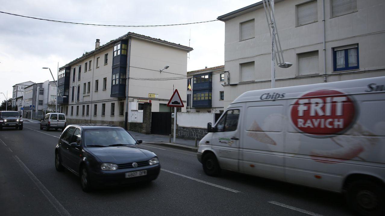 Viveiro tiene uno de los cuarteles de la Guardia Civil más grandes de A Mariña