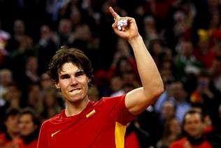 <span lang= es-es >Rafa Nadal</span>. Se colgó el oro en Pekín y quiere repetir logro en los Juegos de Londres.