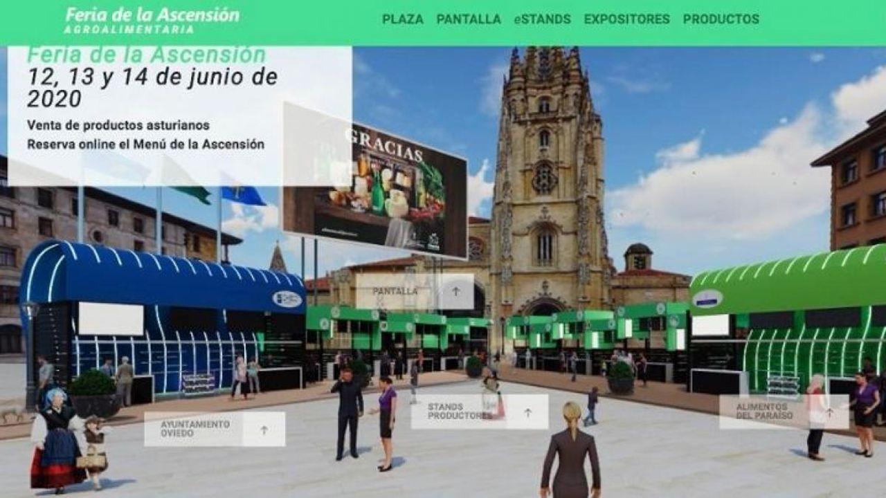 Así fue el baile de Maradona.Feria virtual de La Ascensión