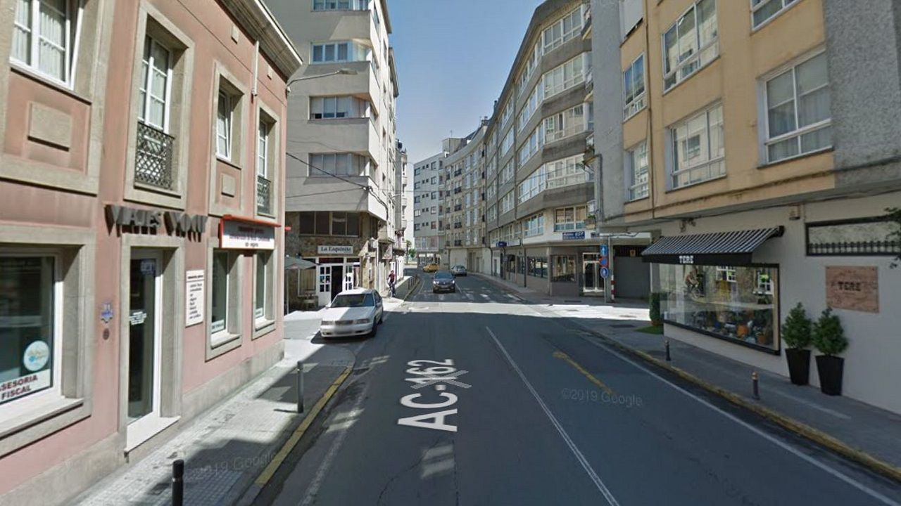 Así se está desarrollando el cribado de O Vao.Avenida República Arxentina