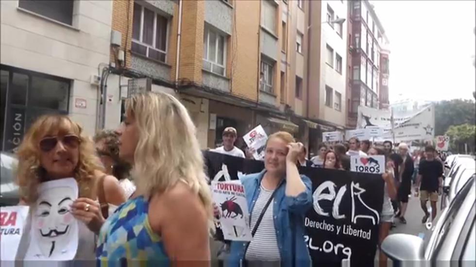 Manifestación antitaurina de Gijón.José María Pérez, portavoz del PSOE en Gijón, en la Casa del Pueblo.