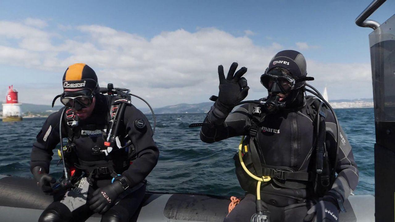 «Buscadores de naufraxios» es finalista en la categoría de mejor programa de televisión