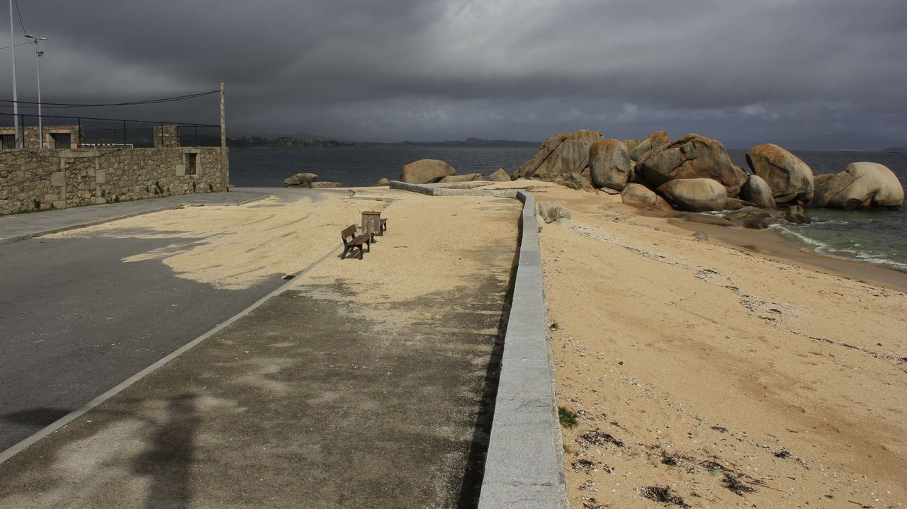 ¡Mira aquí los efectos del temporal en la costa!