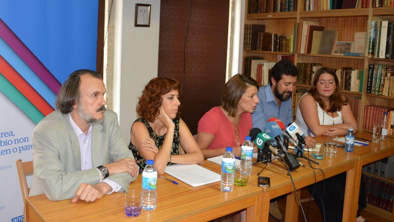 Los diputados de En Marea, en una imagen de archivo
