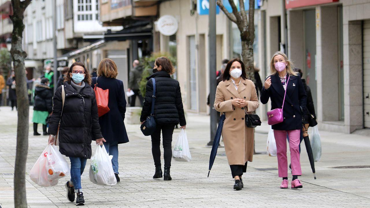 Los vecinos de Boiro verán aliviadas las restricciones después de casi tres meses