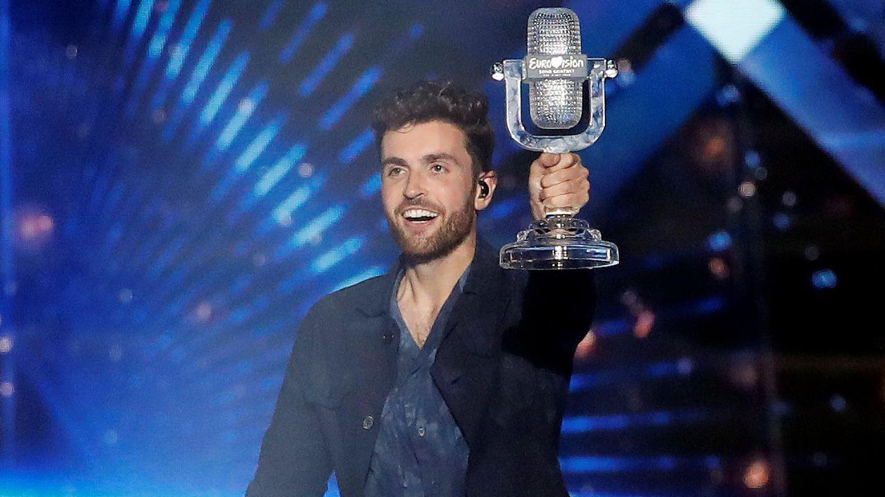 Duncan Laurence se lleva a casa el micrófono de cristal de Eurovisión