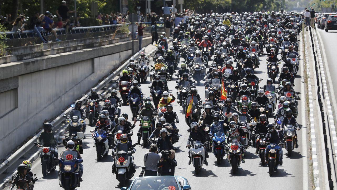 Espectacular homenaje a Ángel Nieto en Madrid
