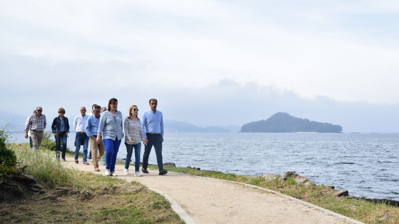 Ría de Pontevedra.Día Mundial de los Oceanos