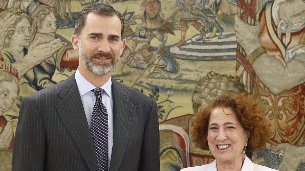 Iglesias fue recibida la pasada semana por el rey, del que fue profesora de Historia desde 1988 hasta el final de su formación.
