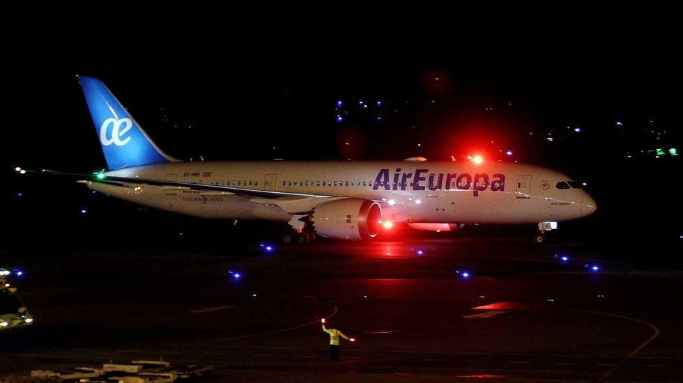 Un avión de Vueling