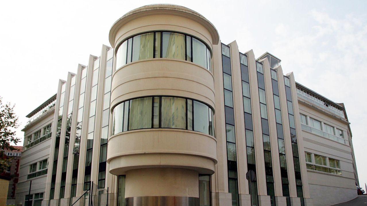 En la imagen, la facultad de Enfermería y Podología, que este año se incorpora a las sedes seleccionadas para los exámenes de selectividad