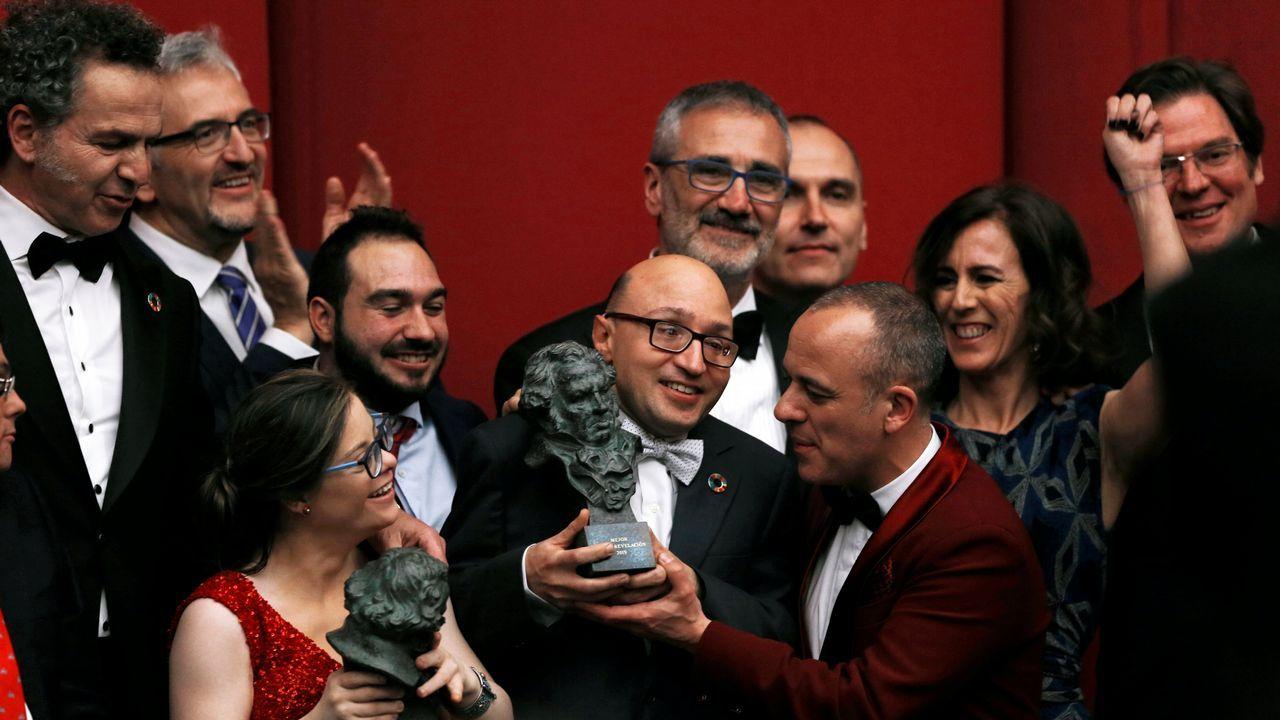 La entrega de premios de los Goya 2019.El actor, en una imagen de archivo