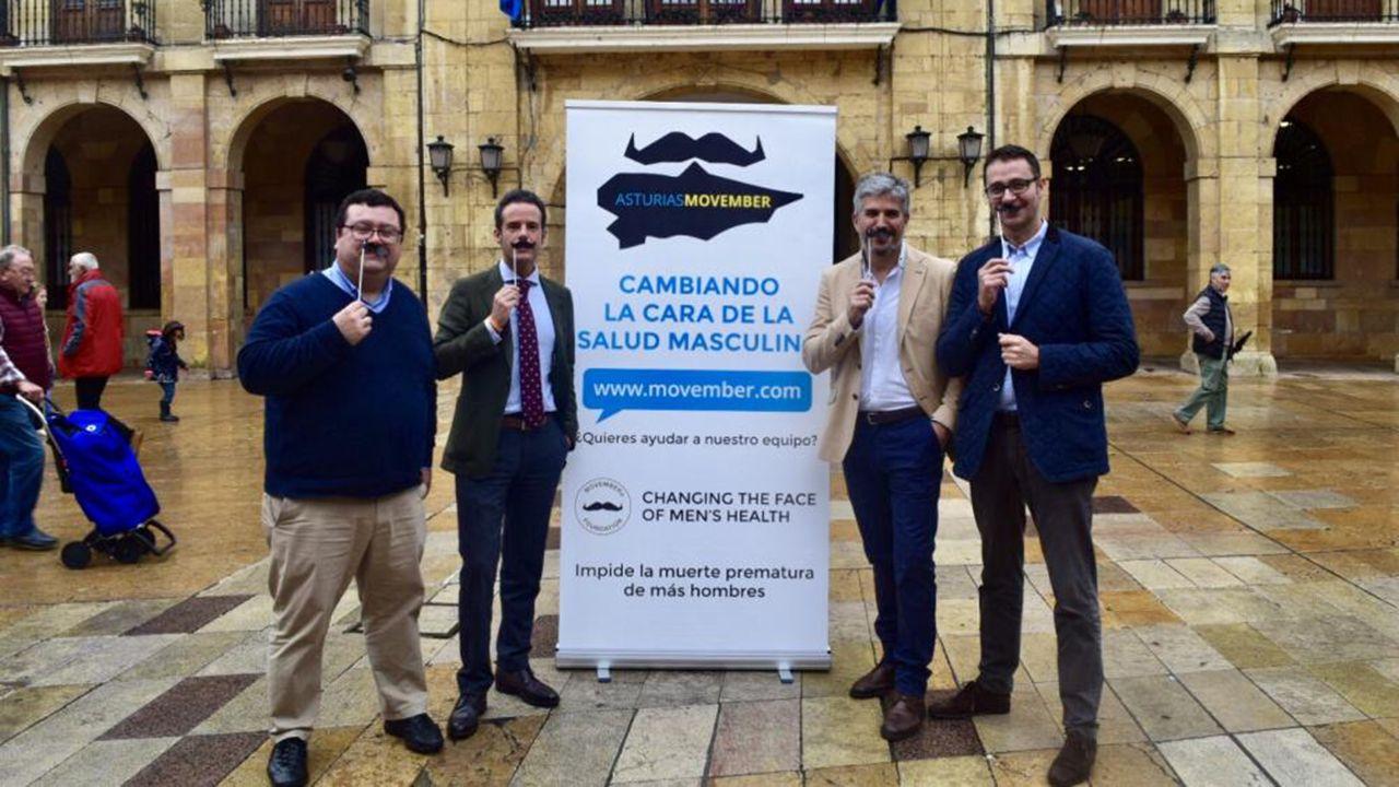 Oviedo se suma al movimiento Movember