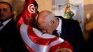 Kais Saied, presidente de Túnez