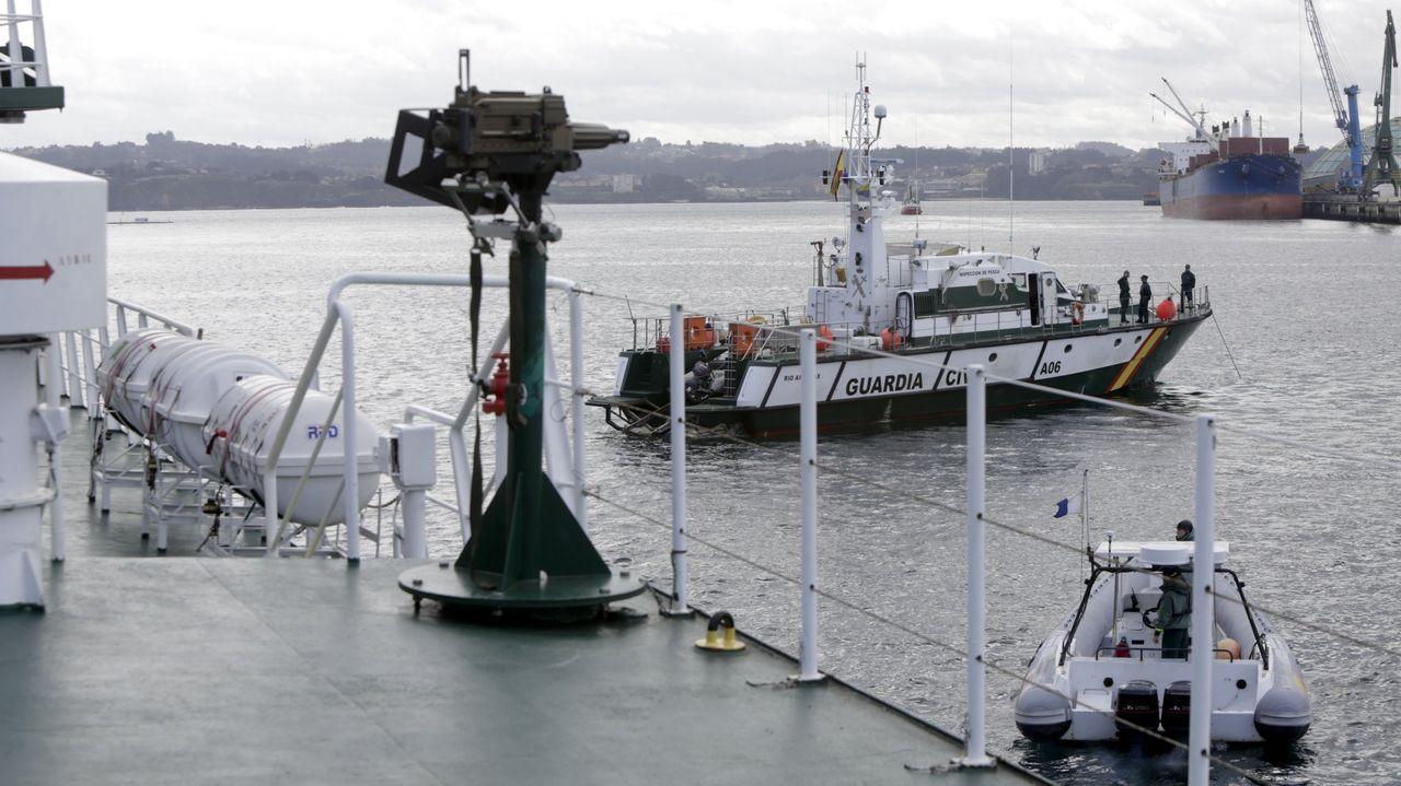 Imagen de archivo del servicio marítimo de la Guardia Civil