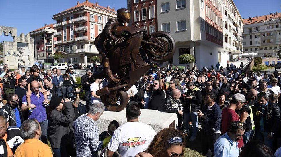 Las estatuas proliferan en el paisaje urbano de Vigo y su área