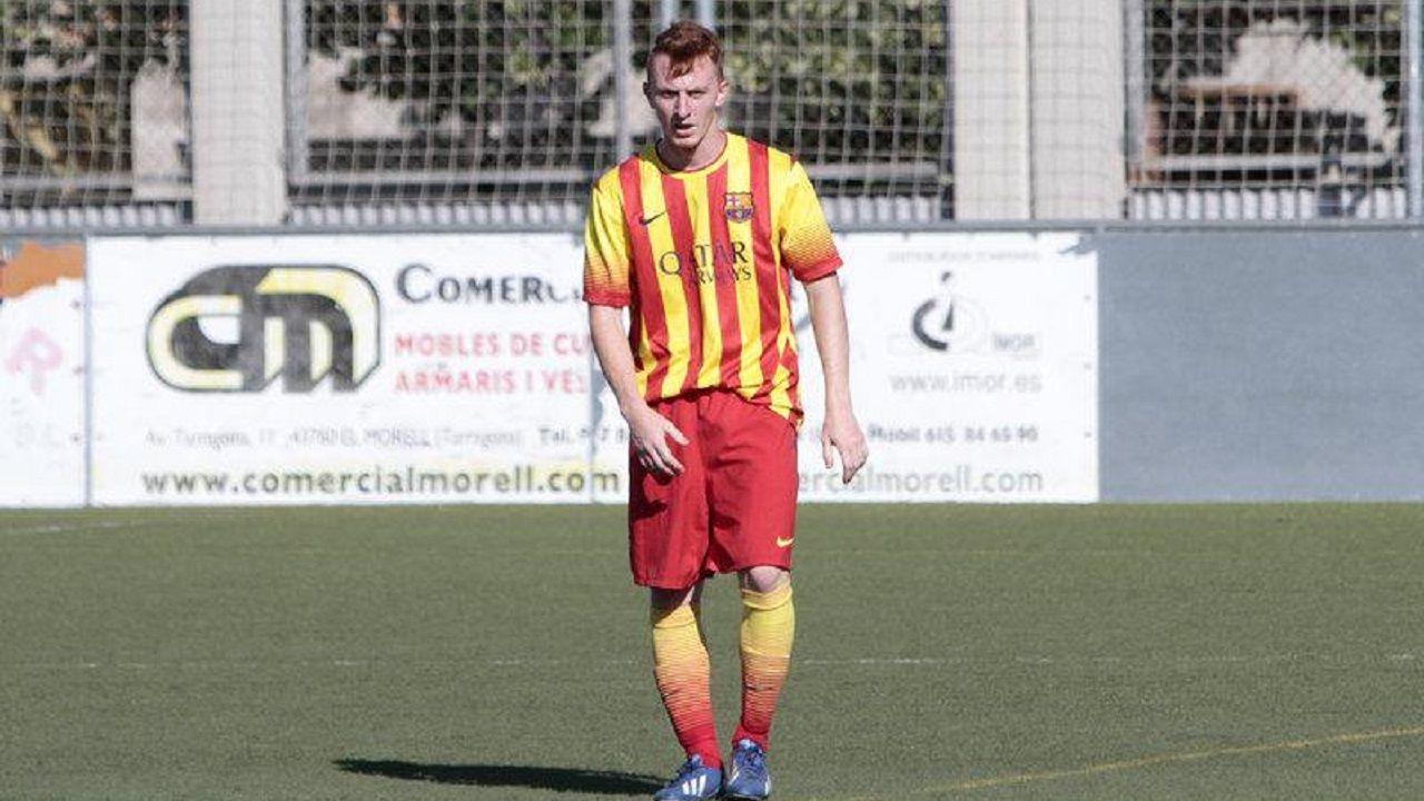 Fran Álvarez en su etapa en el FC Barcelona