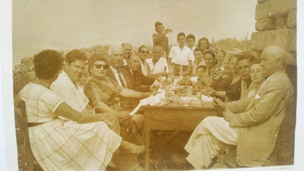 O Espiño, en Cabana, en una imagen de archivo anterior a la pandemia