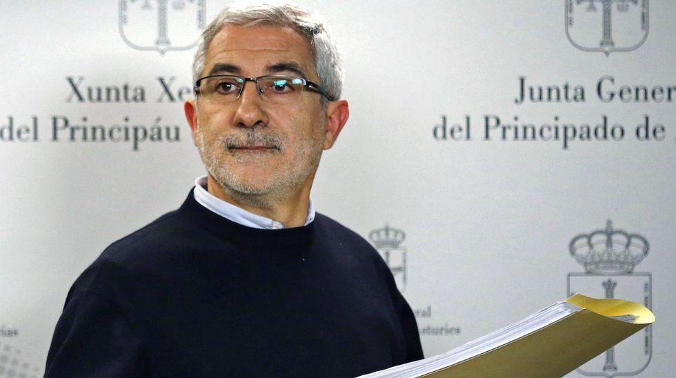 Carmen Rodríguez Maniega, presidenta del PP Avilés.Gaspar Llamazares