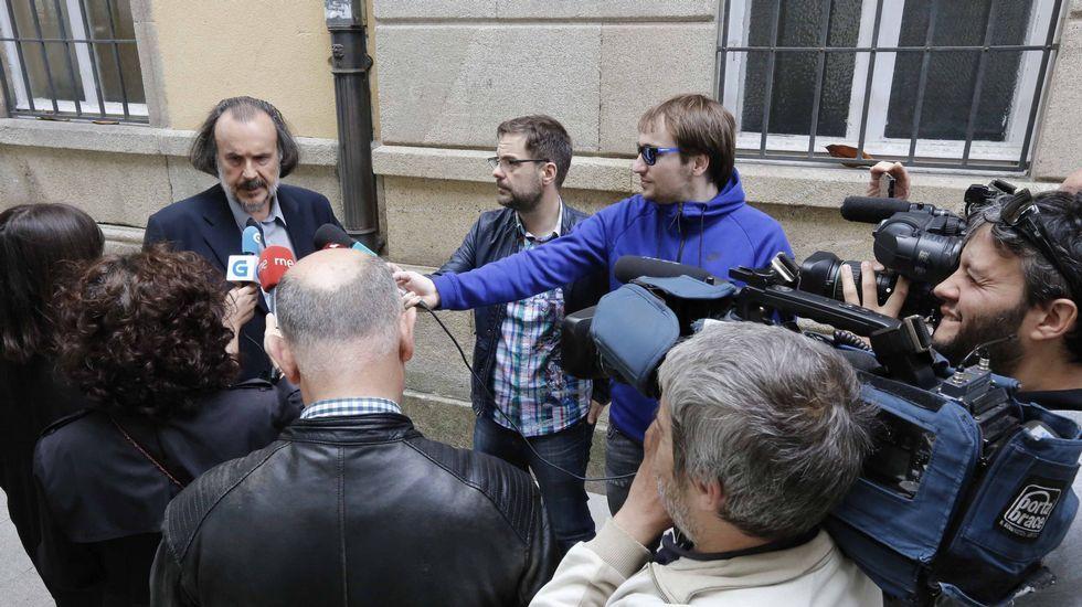El candidato de En Marea, Fernán Vello.