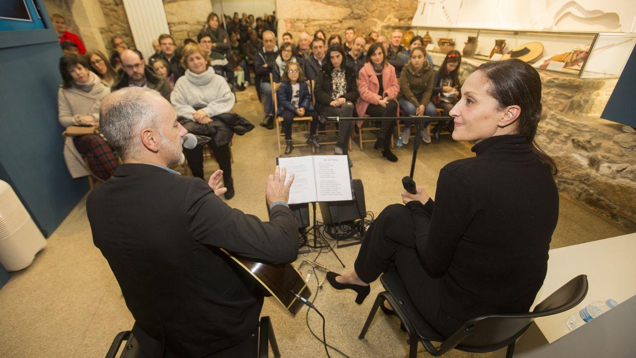 Granrespuesta del público a las visitas teatralizadas en Vimianzo: ¡las imágenes!