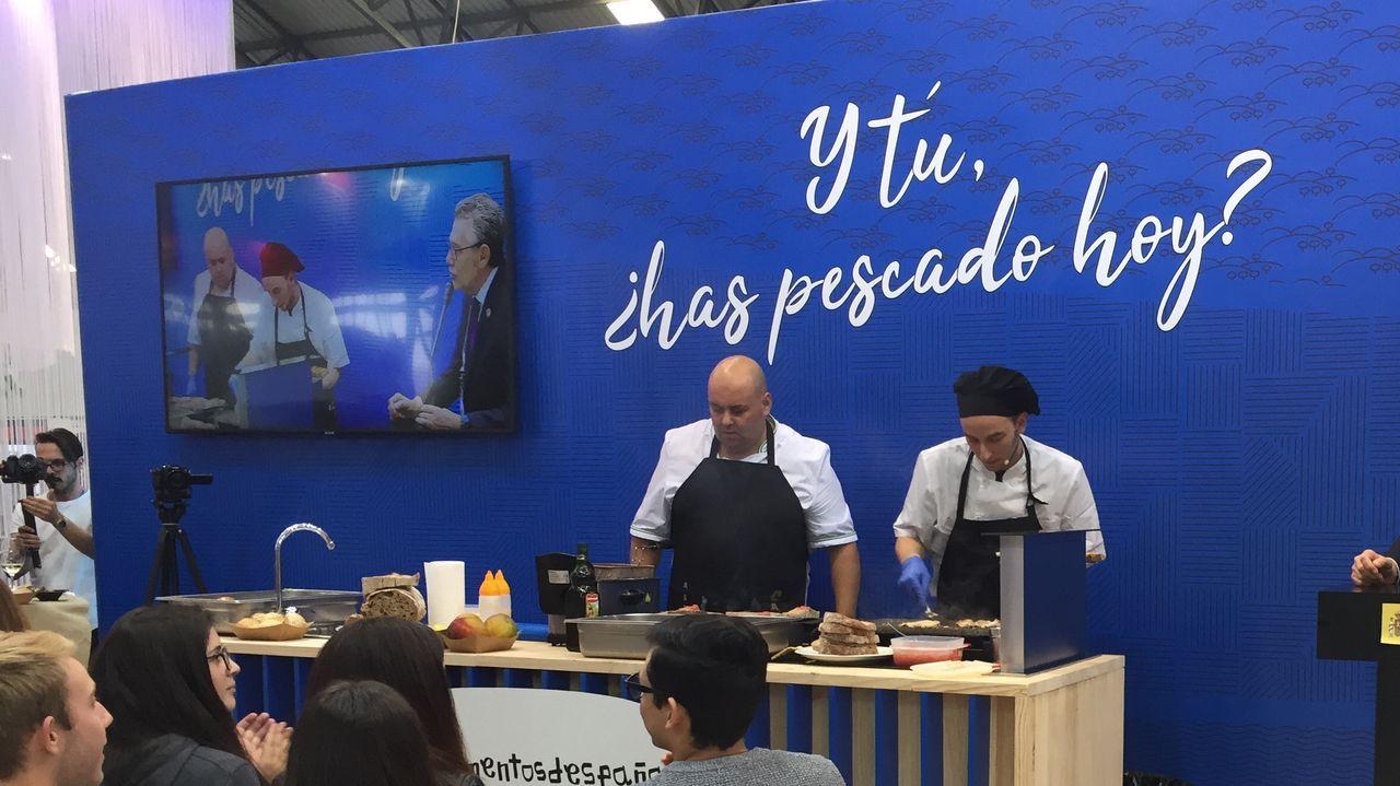 Adrián Barbón, Irma Clots, Josep Oliu y Antonio Cabrales