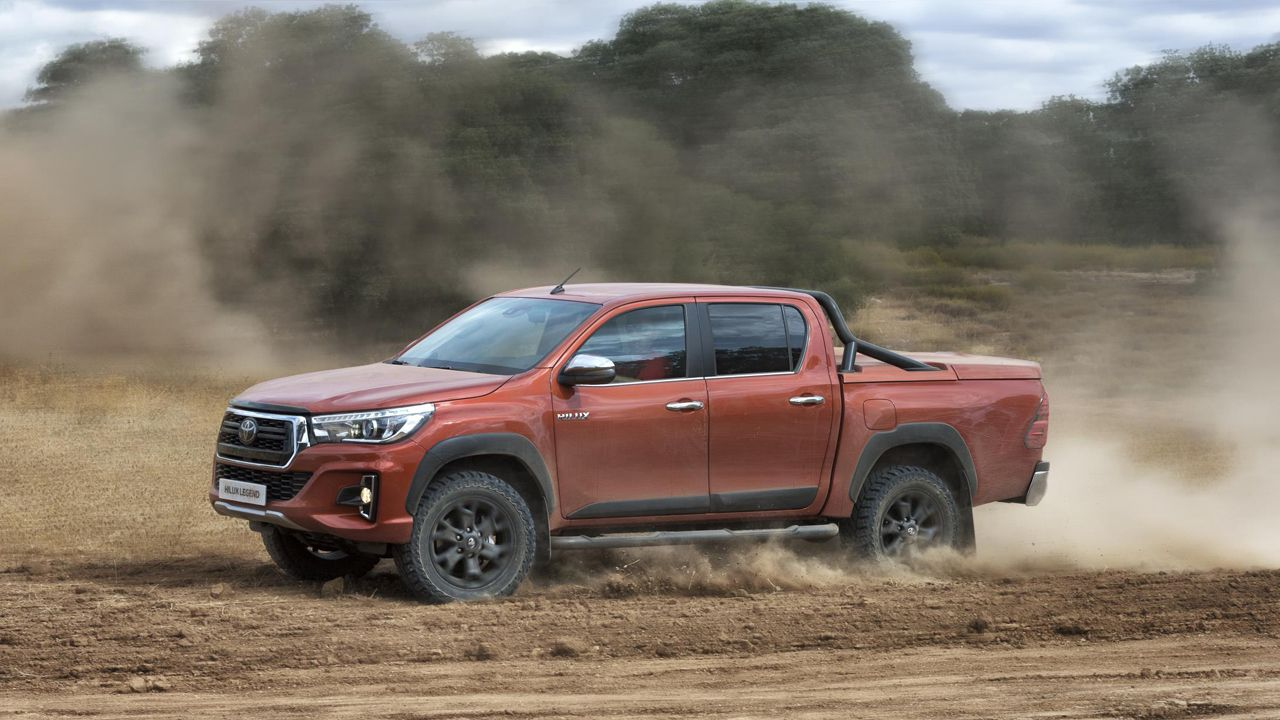 El pick-up Hilux Legend de Toyota
