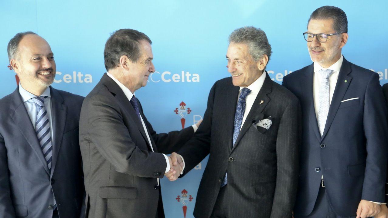 Abel Caballero y Carlos Mouriño
