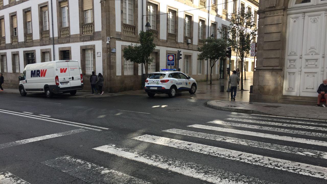 Calle Progreso de la capital ourensana